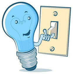 Light Bulb and Switch