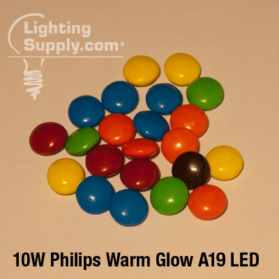 10W Philips Warm Glow Lighting