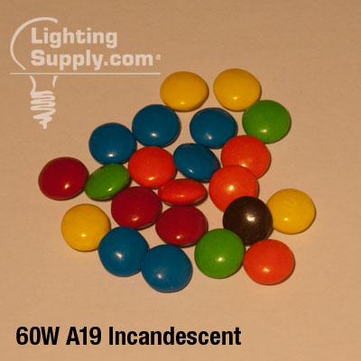 60W Incandescent Lighting