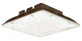 Low Profile LED Canopy Lighting