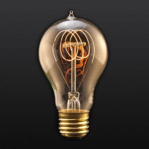 Quad Loop Filament Edison Bulb