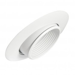 Sloped Lighting Trim Adjustable Eyeball